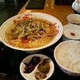 ある日の昼ご飯 羽田赤坂飯店