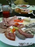 朝食バイキング ウエスティン大阪 うまいね