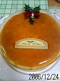 クリスマスはベイクドチーズケーキ