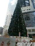 大阪空中庭園はクリスマス一色