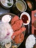 【昼飯】和幸カキフライの盛合わせ