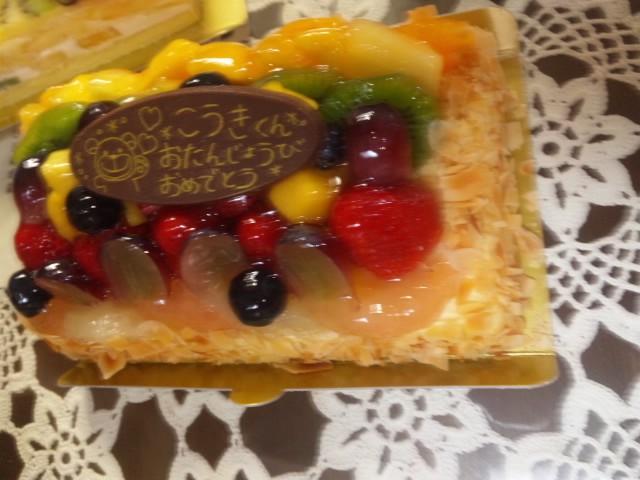 お兄ちゃんお誕生日おめでとう