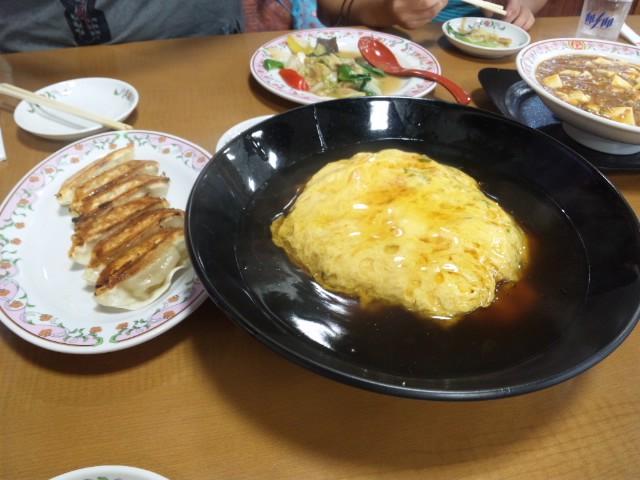 [家族]【夕食】餃子の王将