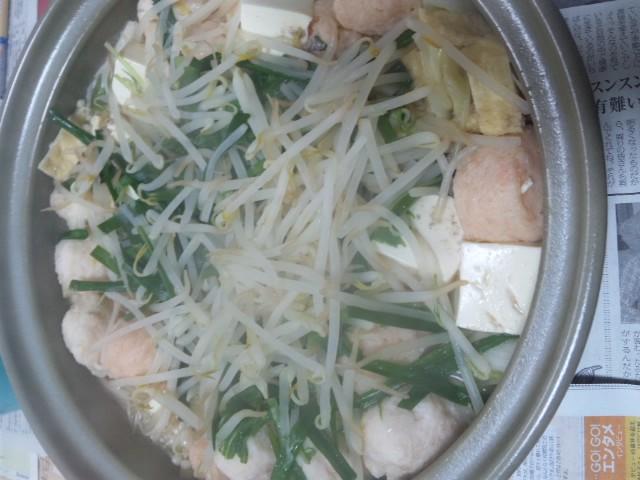 今夜は野菜鍋