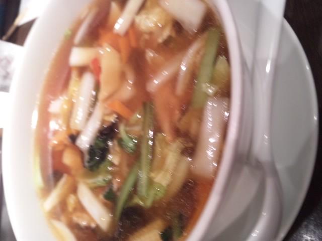 中華料理青冥 汁ソバ