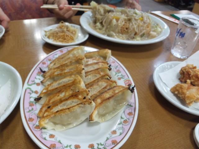餃子の王将で天津飯いただきました
