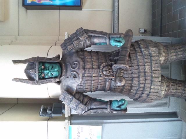 長浜フィギュアミュージアムのケンシロウは等身大