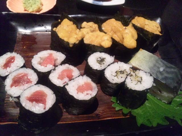 にぎり長次郎で寿司いただきました
