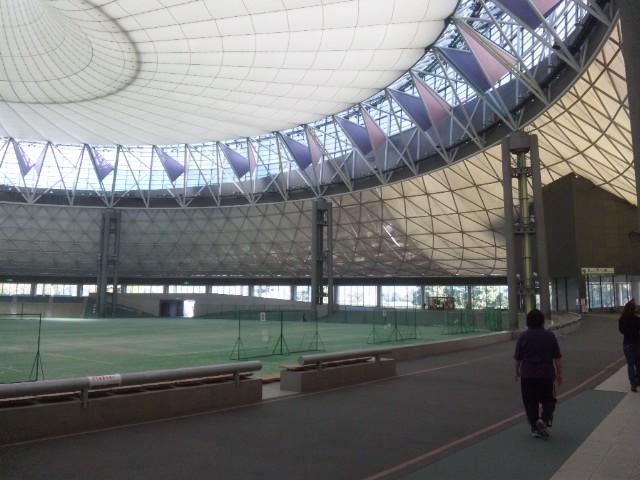 熊本県民総合運動公園パークドーム立派な施設だわ