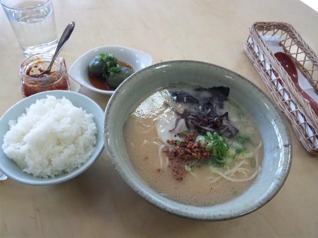 九州新幹線新玉名駅で玉名ラーメンいただきました