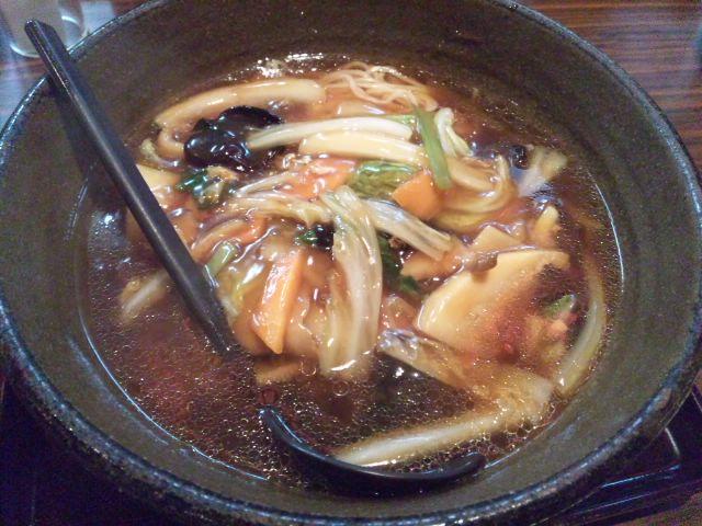 JR武蔵塚らーめん五味八珍で五目ラーメンと半チャーハン、浜松餃子いただきました